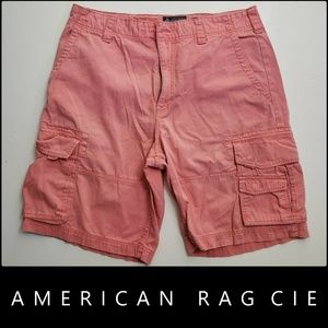 American Rag Cie Men Flat Front  Cargo Shorts 36